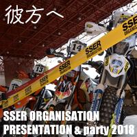 SSER ORGANISATION PRESENTATION & party 2018